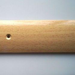 Порог-стык 30мм х 0,9м алюминий бук