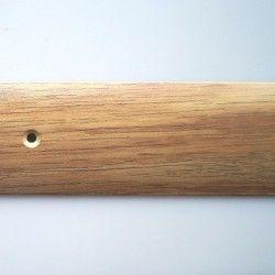 Порог-стык 40мм х 0,9м алюминий дуб золотистый