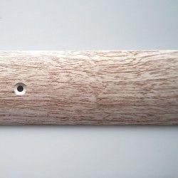Порог-стык 40мм х 0,9м алюминий дуб розовый