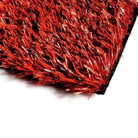 Искусственная трава Topi Grass 20 Красная (1м.)